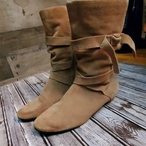 Nordstrom BP leather boots 11